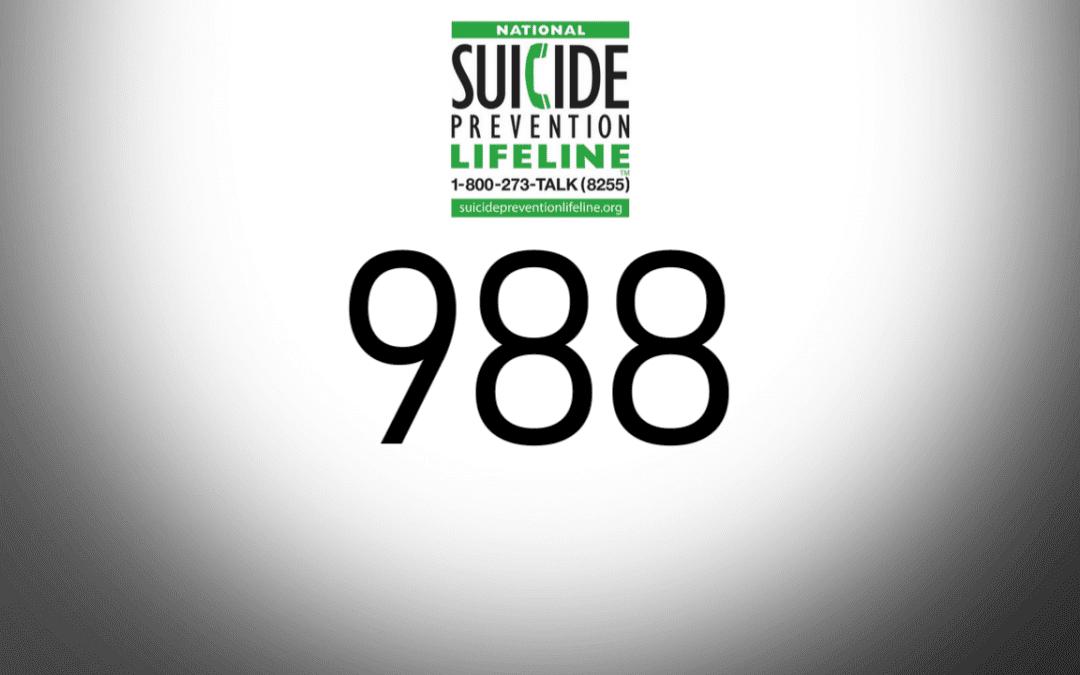 988 suicide crisis line